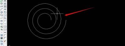 cad平面螺旋线怎么画? cad画螺旋线的教程