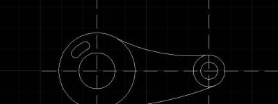 CAD怎么绘制机械零件平面图?