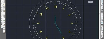 cad怎么画手表表盘平面图?