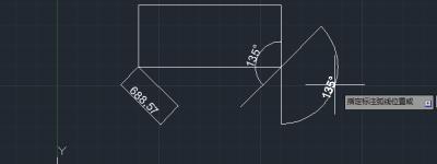CAD角度怎么标注? CAD角度标注的教程