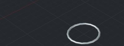 cad怎么画三维立体圆环? cad圆环体的制作方法
