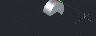 CAD绘制的二维图形怎么旋转成三维实体?