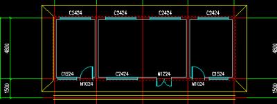 CAD施工图怎么绘制室外有散水? CAD绘制散水的教程