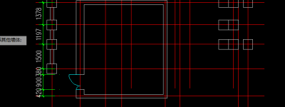 CAD图纸中的门窗怎么标注?