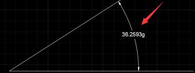 CAD角度标注度分秒怎么转换成百分度?