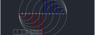 CAD多段线怎么绘制创意的圆形图案?