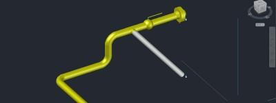 CAD Plant 3D怎么进行管道的布置?