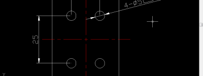 CAD图纸怎么输入标注沉头符号?