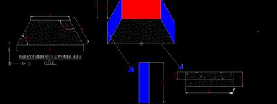 CAD2007怎么绘制安全质量演讲台图纸?