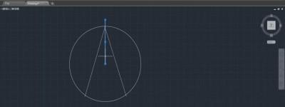 CAD怎么画指北针? CAD指北针制作方法