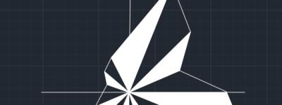 CAD怎么画静风东北风的风玫瑰图?
