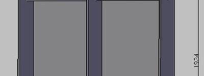 cad怎么建模三维立体的柜子?