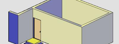 天正建筑cad阴角台阶怎么画?