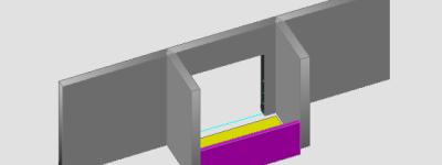 天正建筑cad怎么绘制凹阳台?