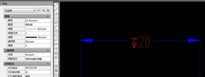 CAD图纸标注怎么添加深度符号?