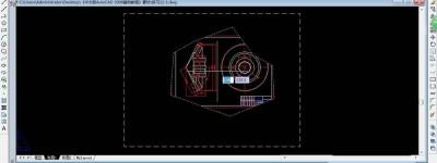 CAD2008怎么使用浮动视口?
