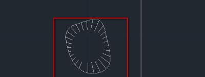 cad怎么绘制池塘平面图? 池塘cad平面图的教程