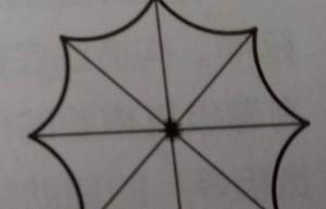 CAD射线命令怎么绘制雨伞伞面? CAD雨伞的画法