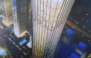 """""""中国尊""""钢结构工程视频,不愧是北京第一高楼!"""